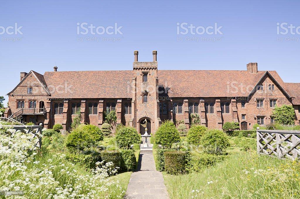 Hatfield Old Palace stock photo