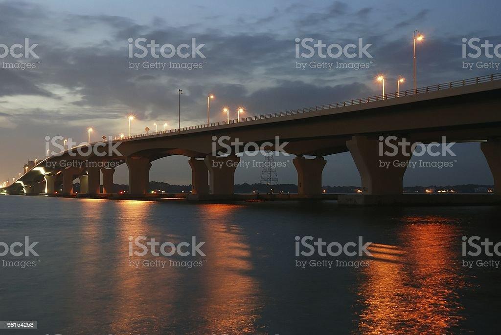 Hathaway Bridge Panama City Florida stock photo