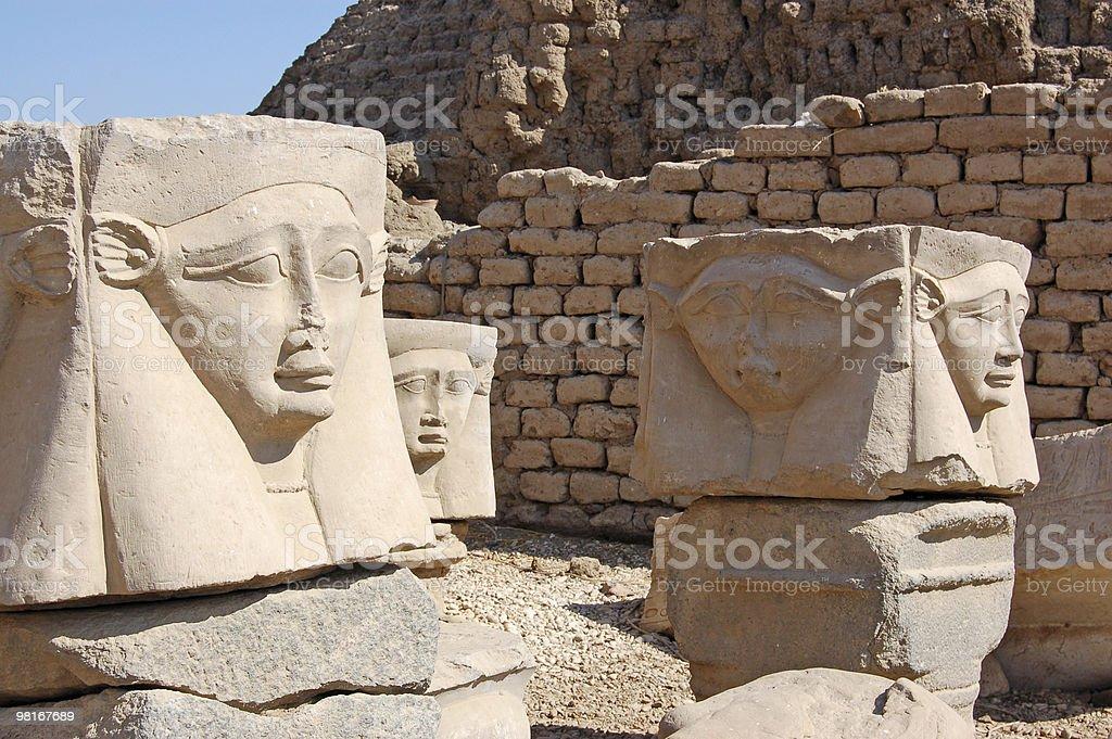 Hathor Capitals royalty-free stock photo