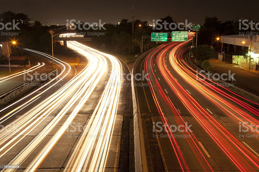 Hato Rey Traffic royalty-free stock photo