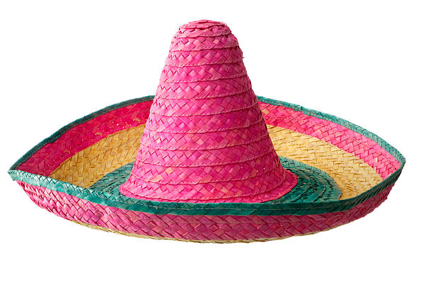 Hats: Mexican Sombrero stock photo