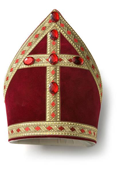 Hats: Miter of Sinterklaas More Sinterklaas photos here... sinterklaas stock pictures, royalty-free photos & images