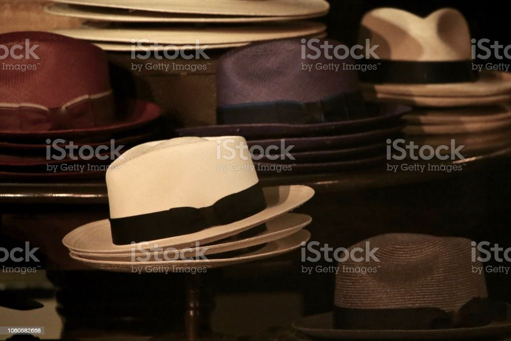 Hats Off stock photo