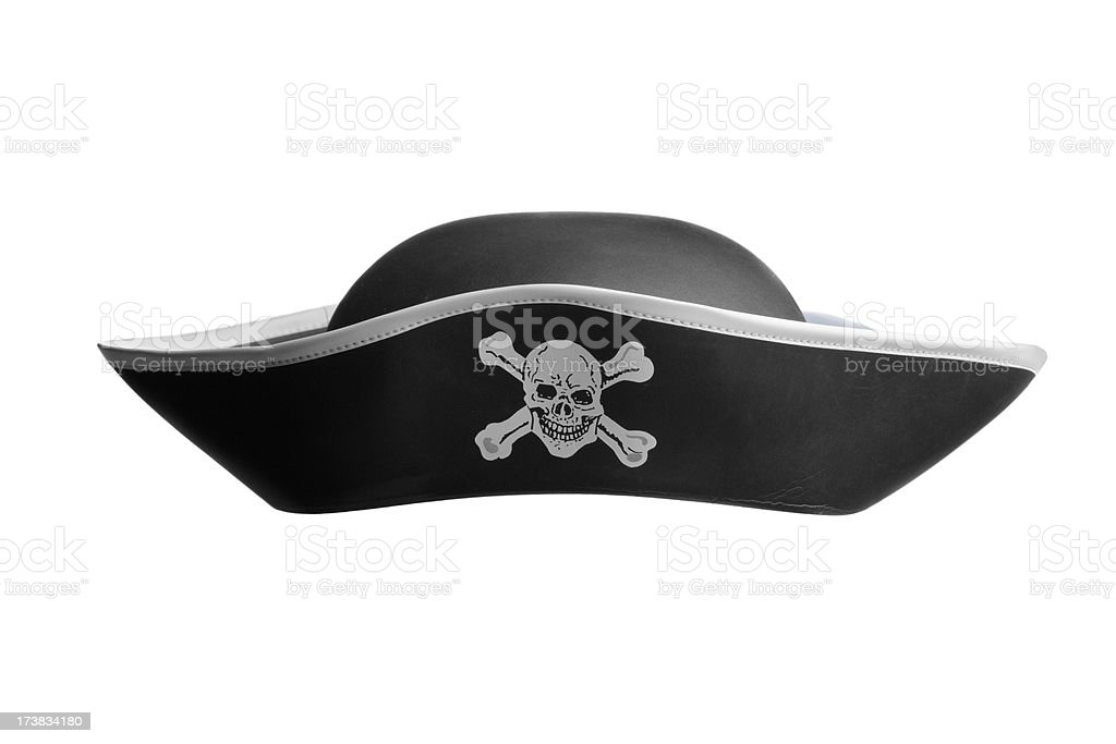 Hats: Pirate Hat stock photo