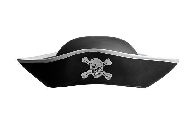 hats: pirate hat - pirates stock photos and pictures
