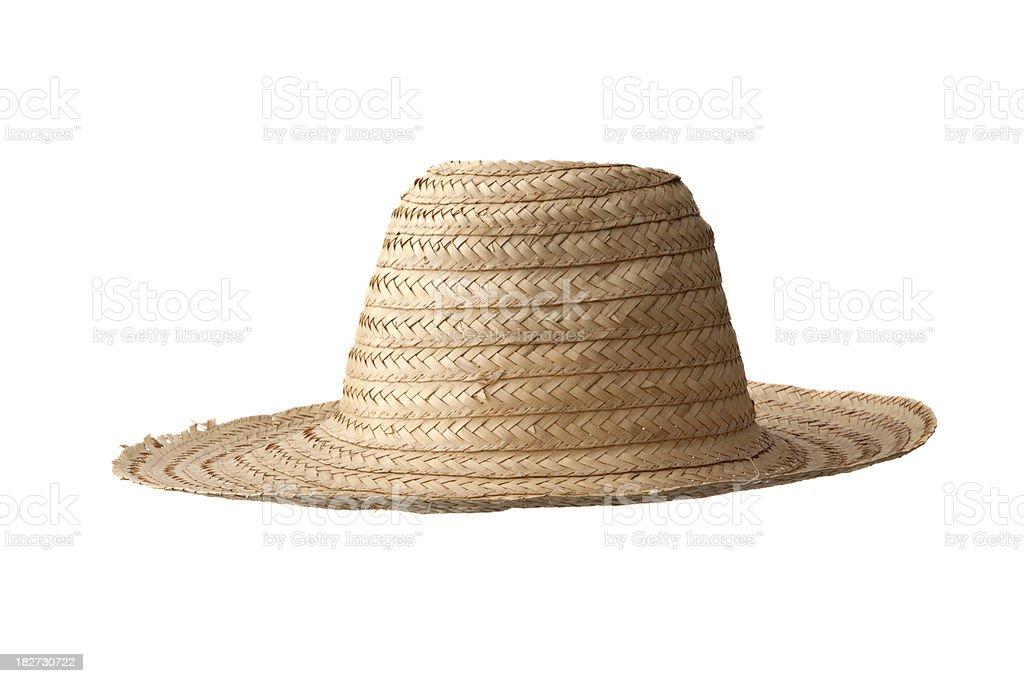 Hats: Straw Hat royalty-free stock photo