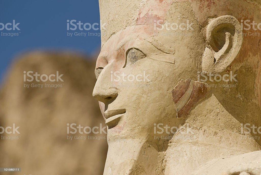 Hatshepsut, Egypt royalty-free stock photo