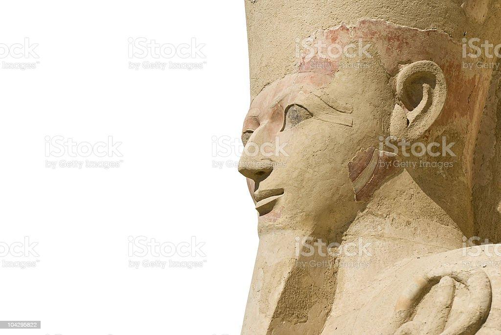 Hatshepsut isolated royalty-free stock photo
