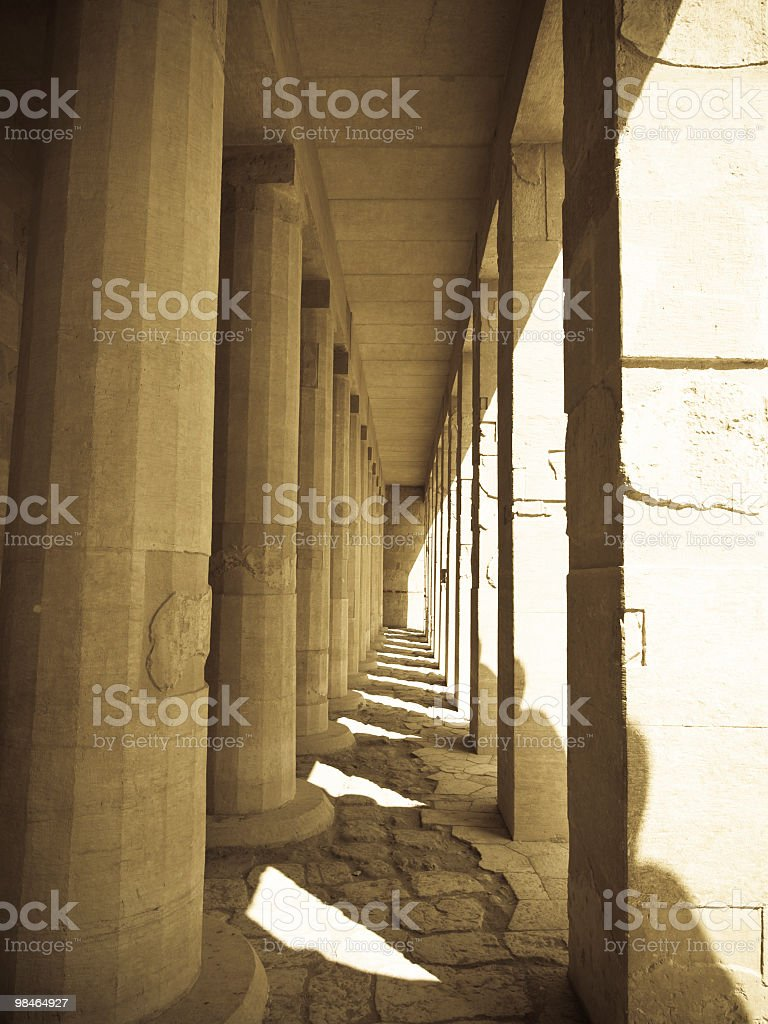 hatshepsut Mortuary temple royalty-free stock photo