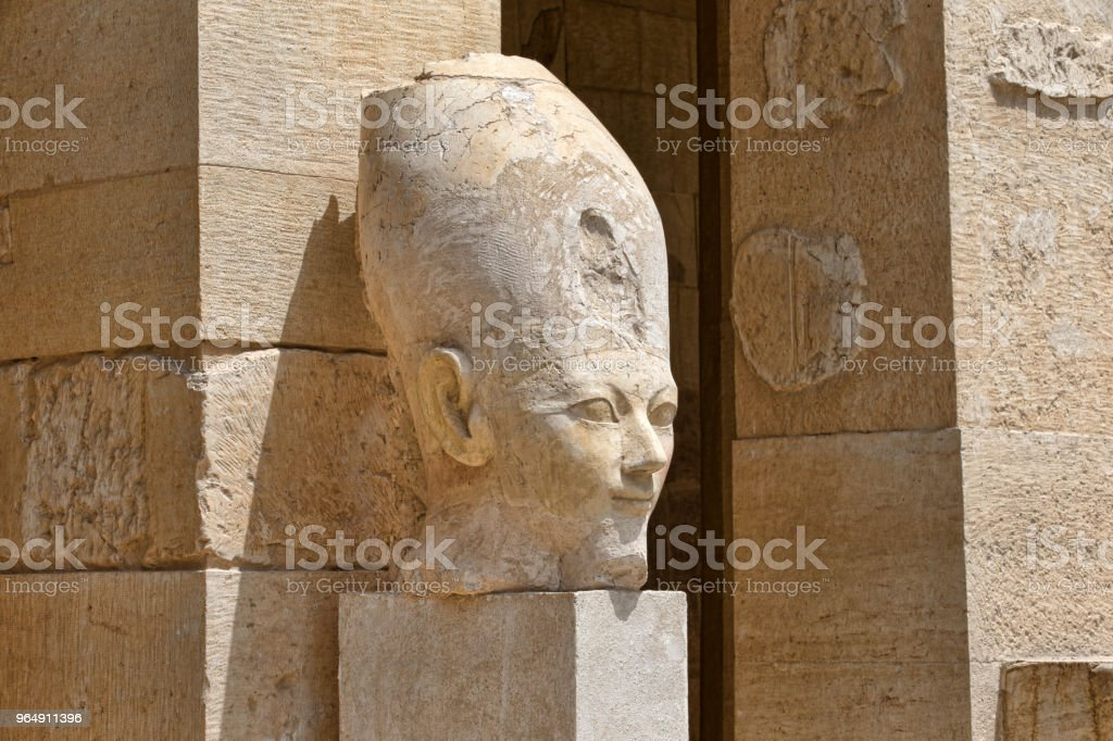Hatshepsut near Luxor in Egypt royalty-free stock photo
