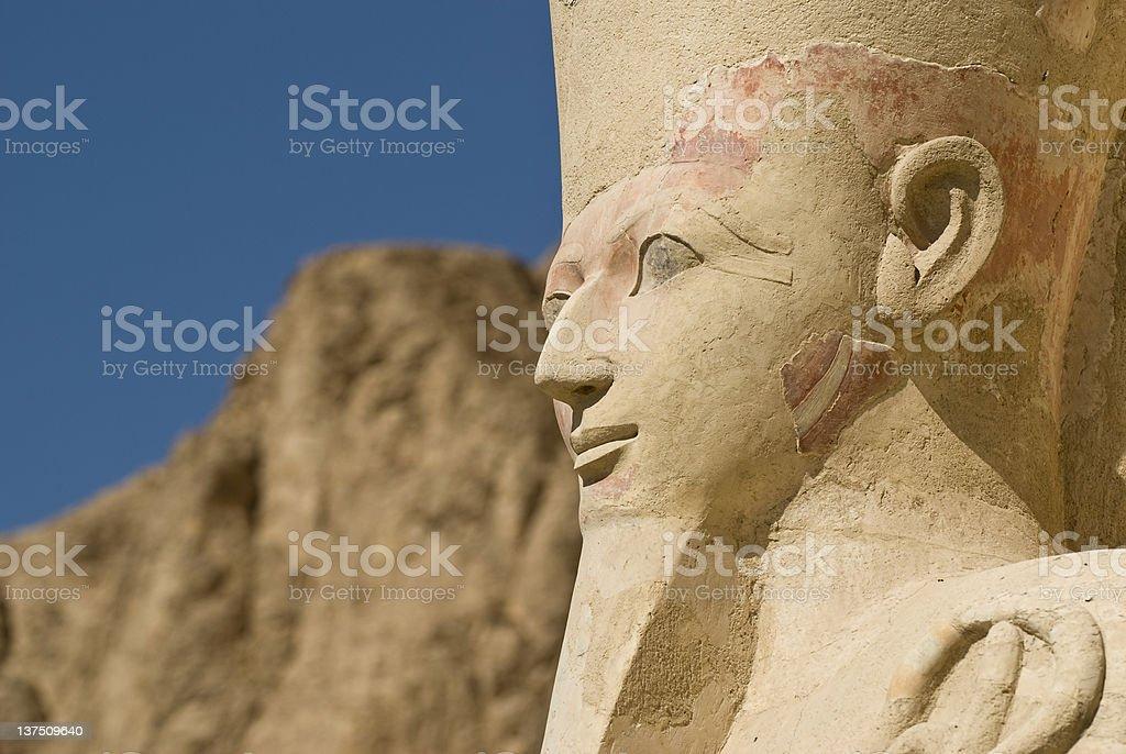Hatshepsut royalty-free stock photo