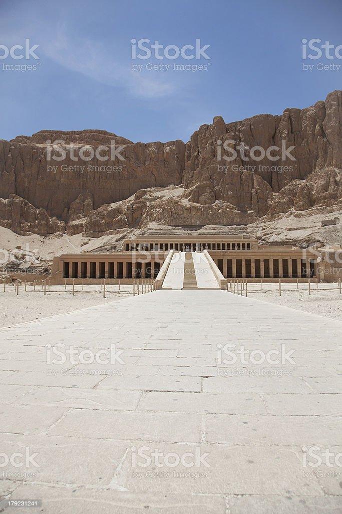 Hatshepsut temple stock photo