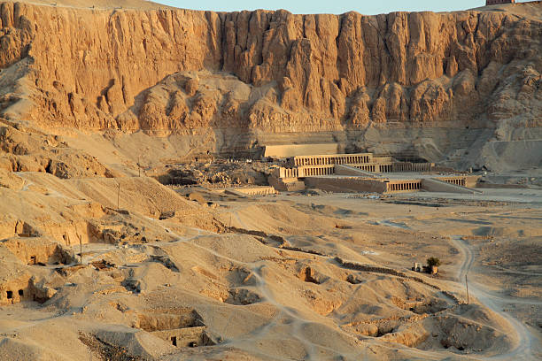 Hatshepsut's Temple from the Air