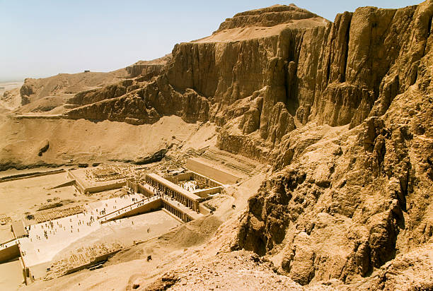 Hatshepsut's temple  valley of the kings stock pictures, royalty-free photos & images