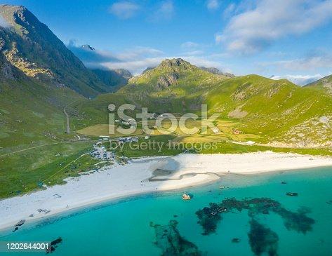istock Haukland Beach, Lofoten, Norway 1202644001