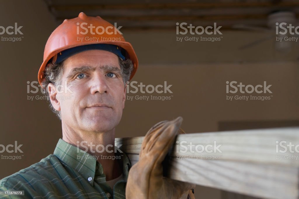 Hauling Lumber royalty-free stock photo