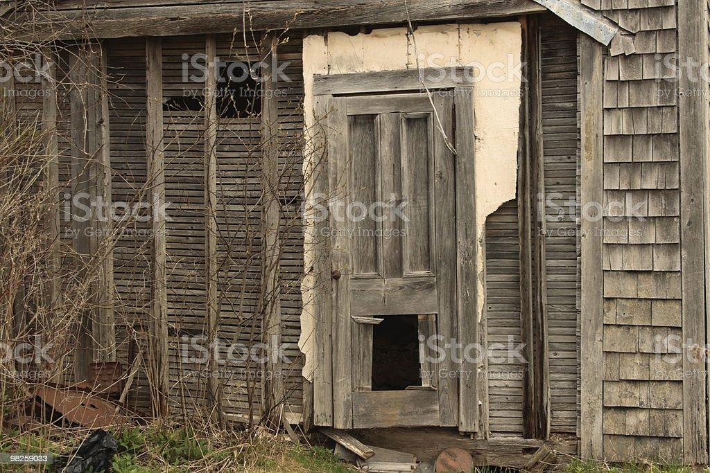 haunted entrance royalty-free stock photo