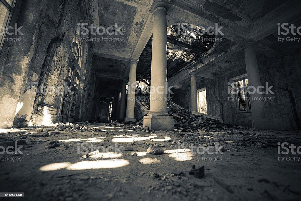 Haunted Hotel stock photo