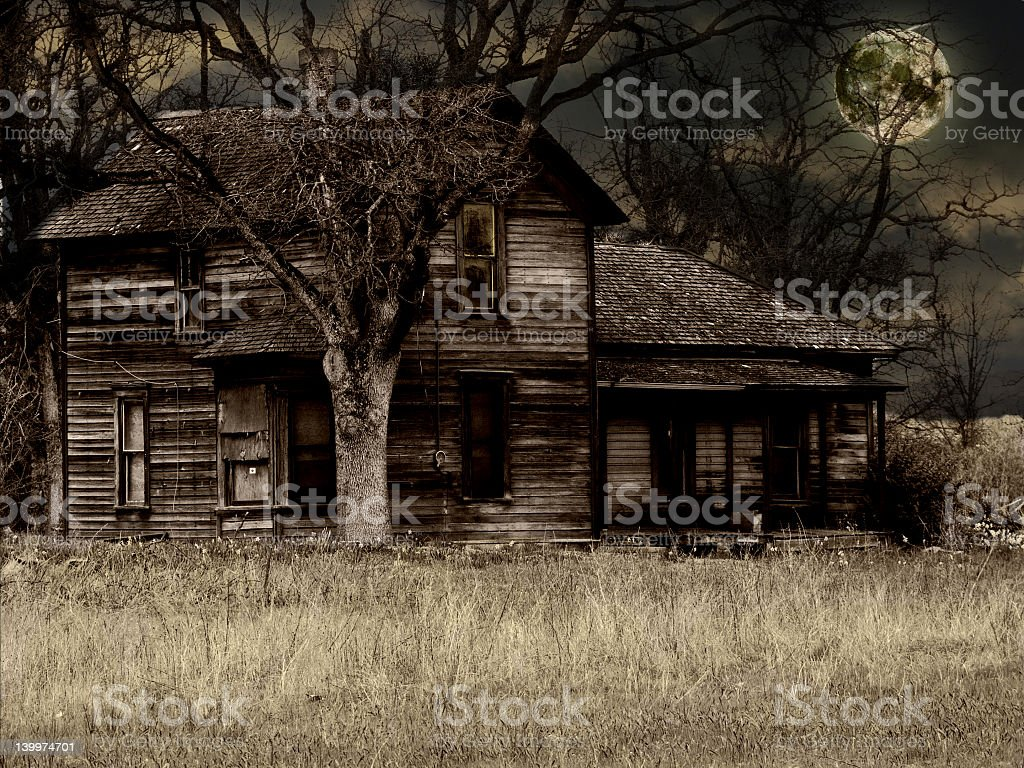 Haunted House - foto de acervo