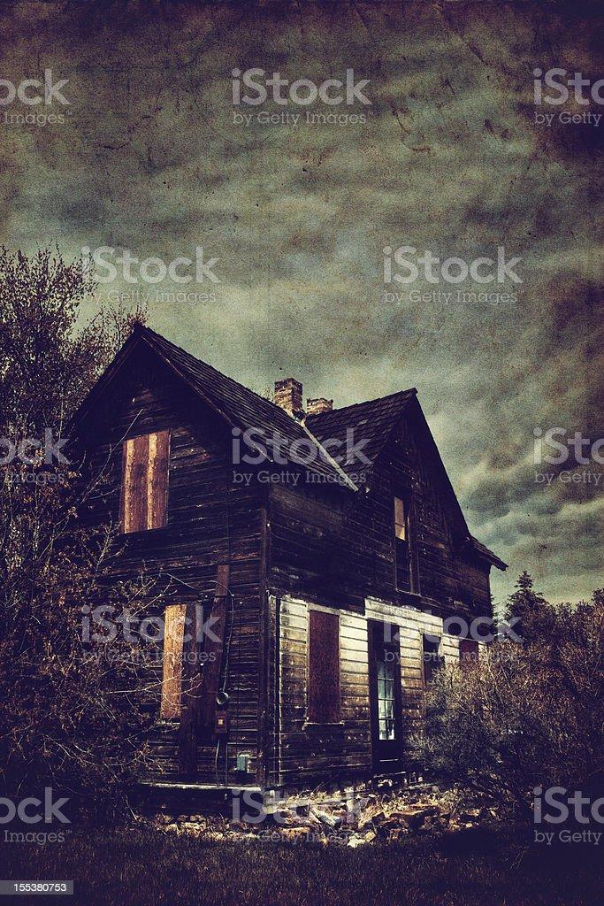 Haunted House - foto de acervo