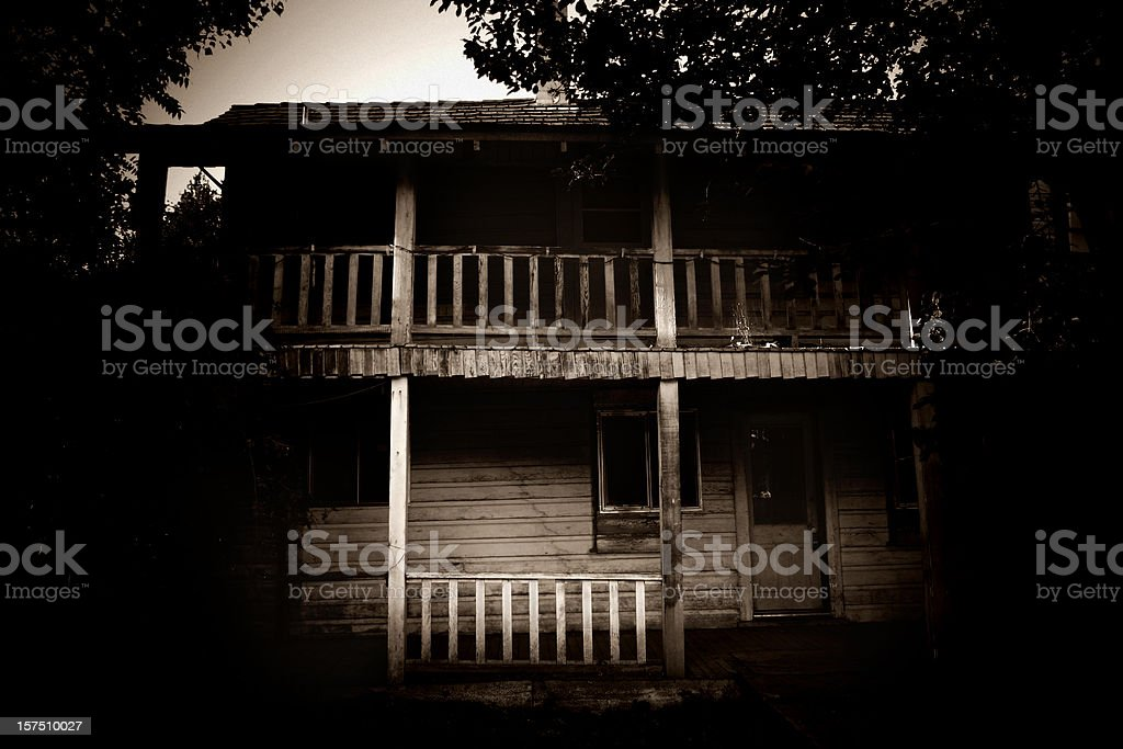 Haunted House royalty-free stock photo