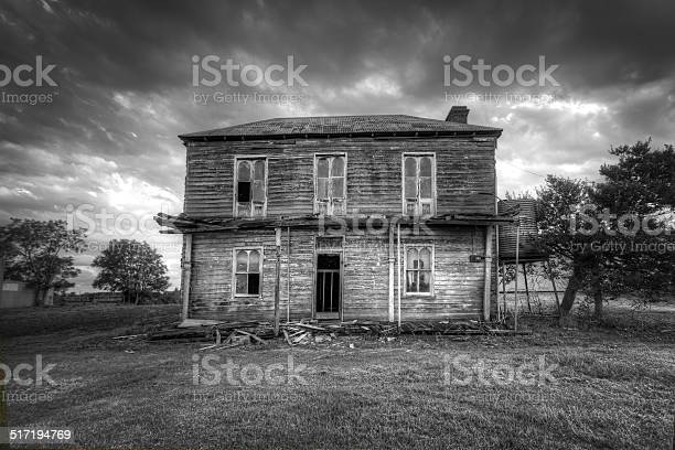 Haunted House Stock Photo - Download Image Now