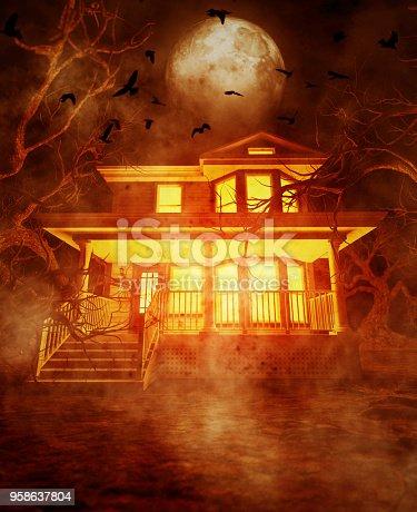 istock Haunted house 958637804