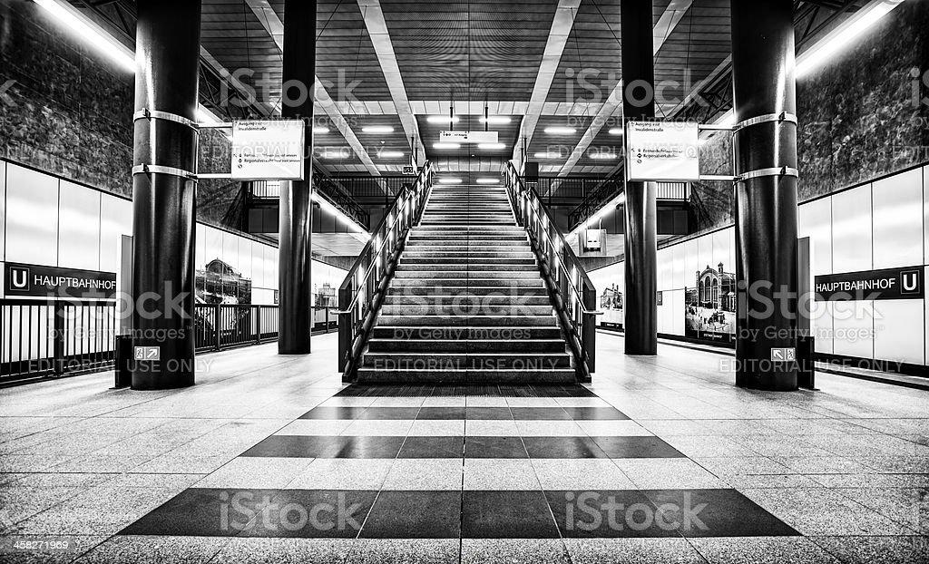 Hauptbahnhof Berlin royalty-free stock photo