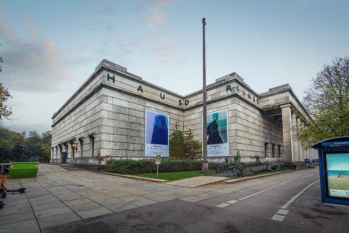 Haus der Kunst Art Museum - Munich, Bavaria, Germany