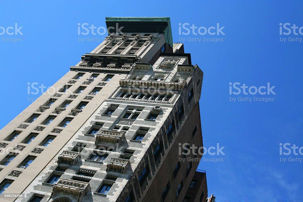 Haus in New York Lizenzfreies stock-foto