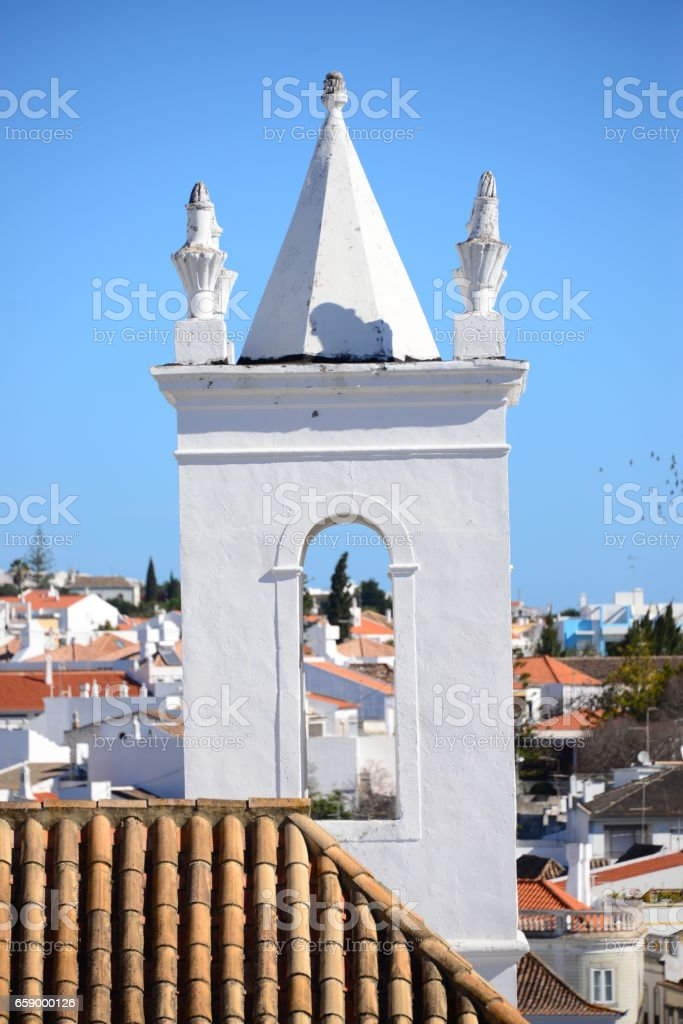 Hausfassden / Stadtansichten in Portugal - (Faro, Lagos, Tavira, Sagres) royalty-free stock photo