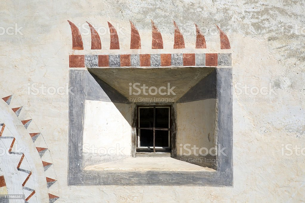 Hausfenster royalty-free stock photo