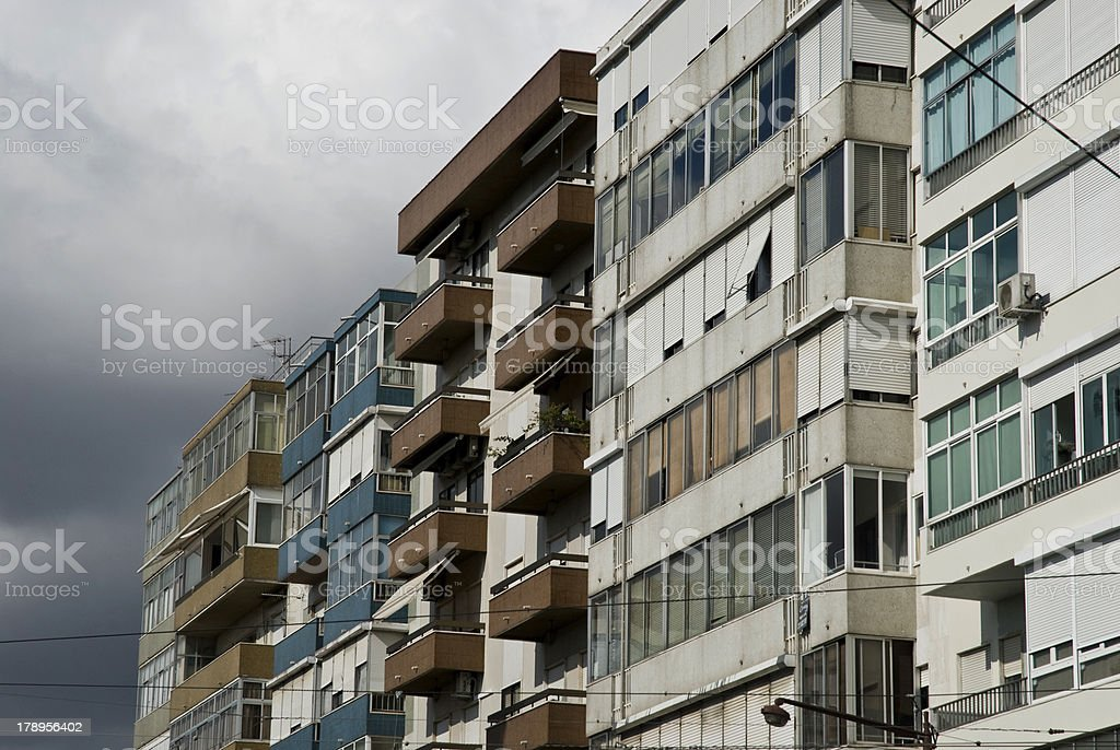 Hausfront royalty-free stock photo