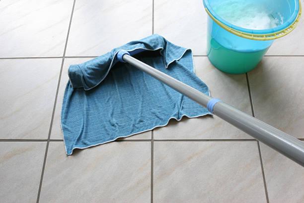 Hausputz stock photo