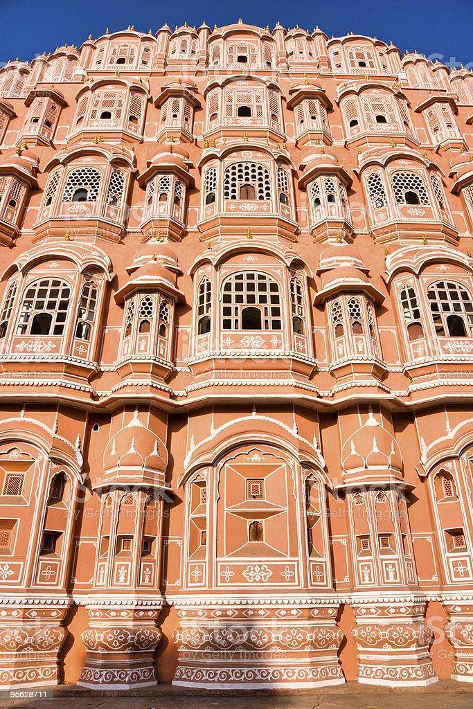 Hava mahal, Jaipur,   India. royalty-free stock photo