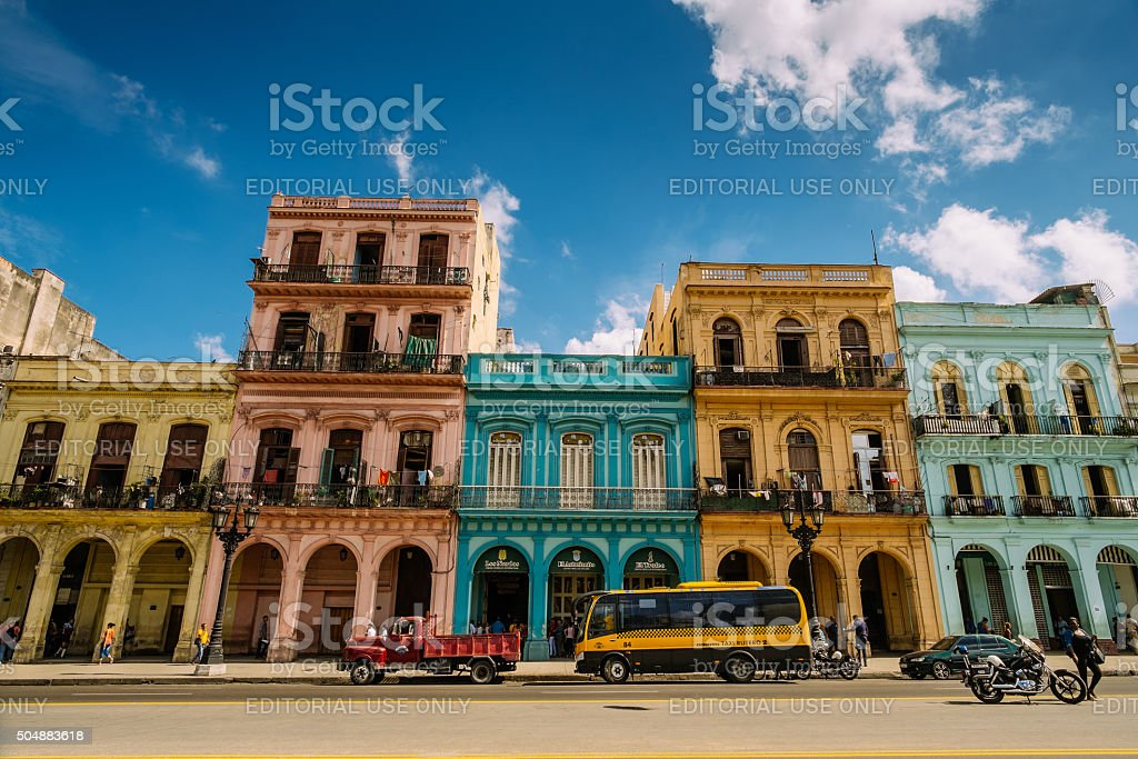 Havana Architecture stock photo