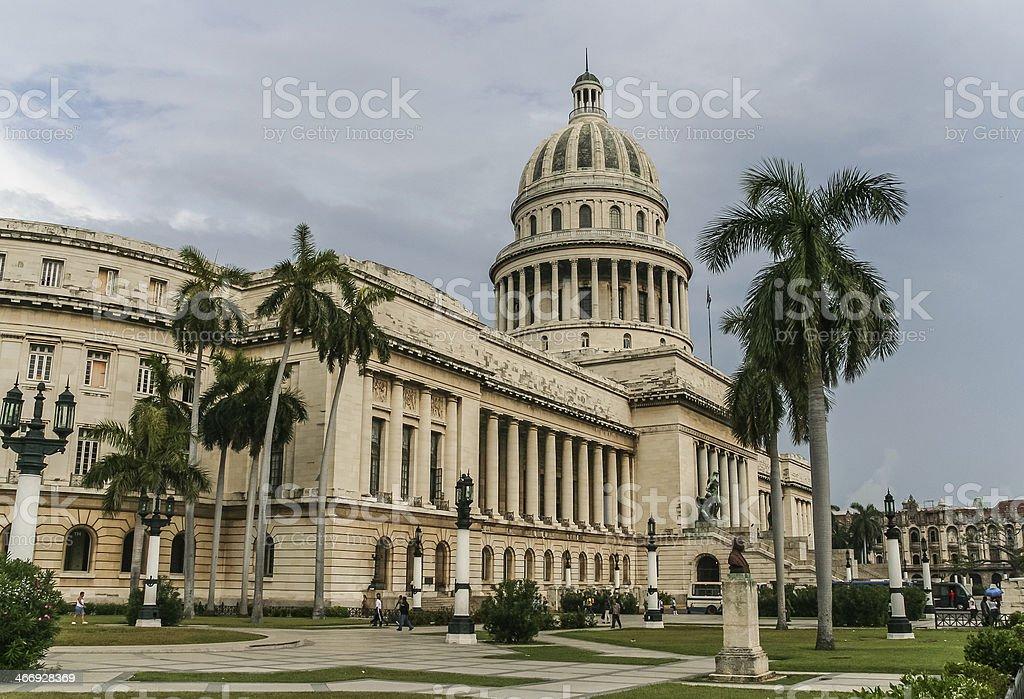 Havana Capitol royalty-free stock photo