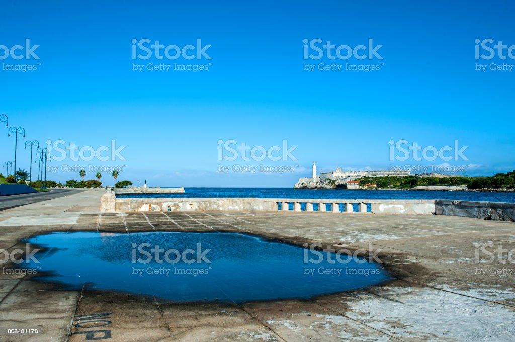 Havana Harbor, Cuba stock photo