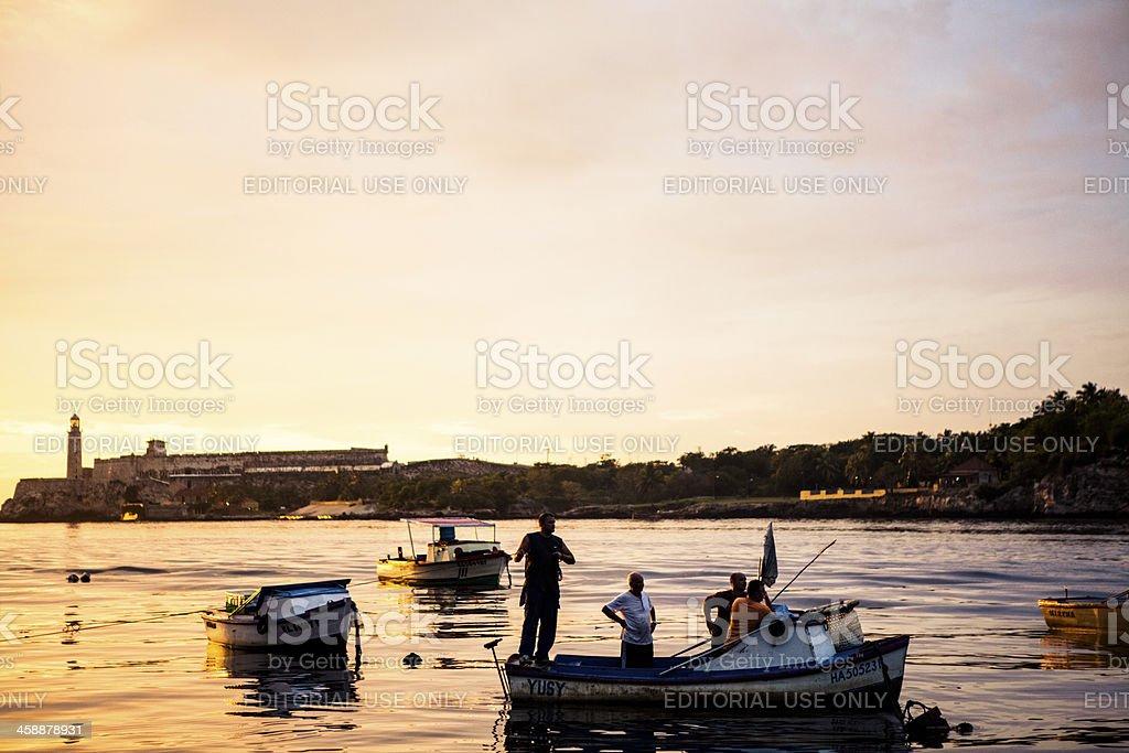 Havana Harbour royalty-free stock photo