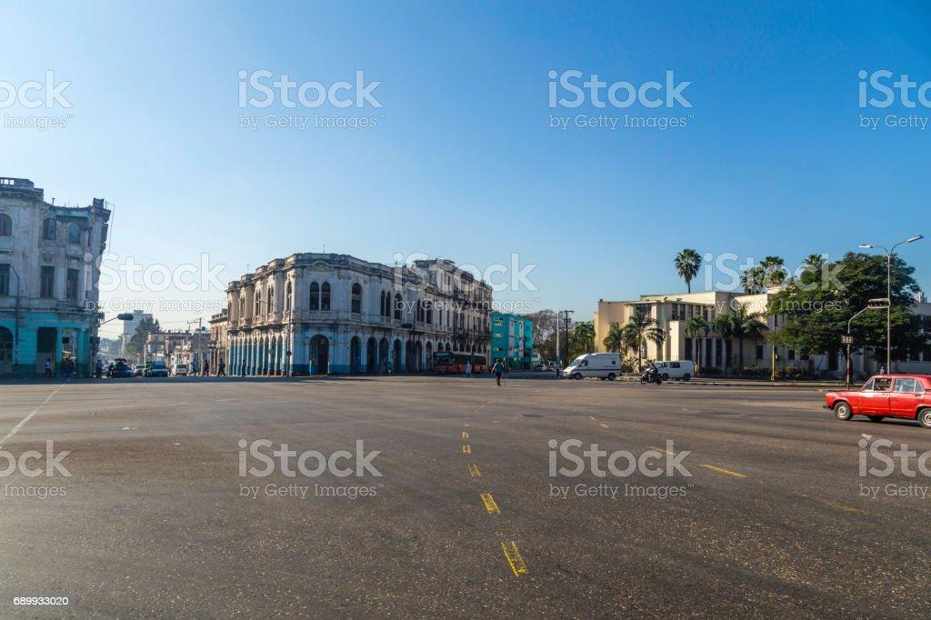 Havana in Cuba stock photo
