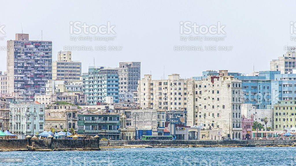 Havana skyline. stock photo