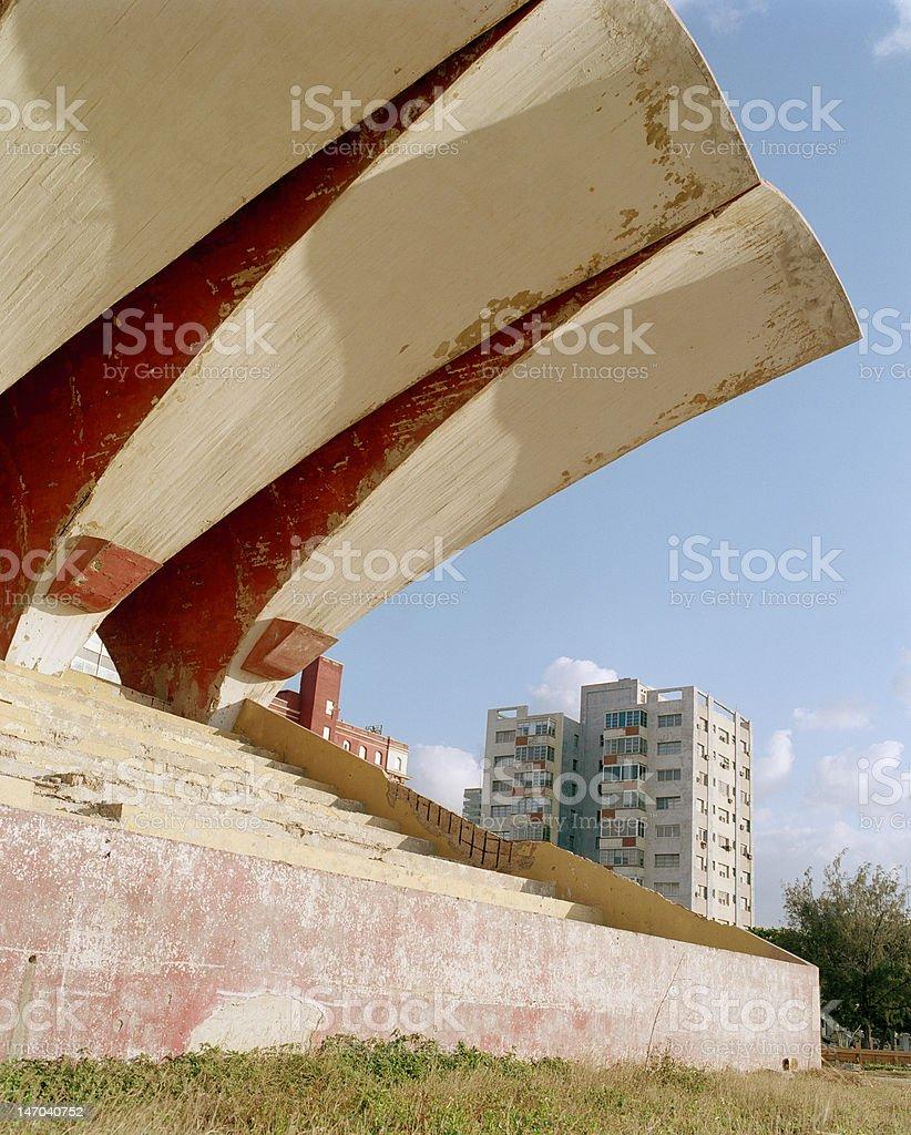 Havana Stadium royalty-free stock photo