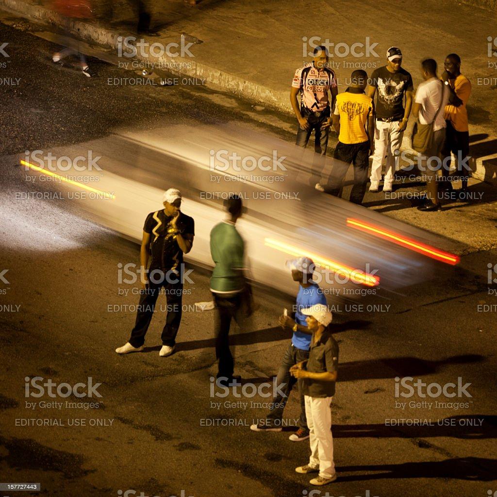 Havana Street Life stock photo