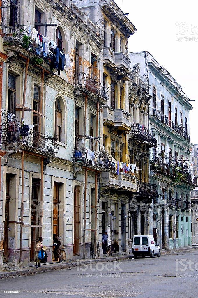 Havana street life royalty-free stock photo