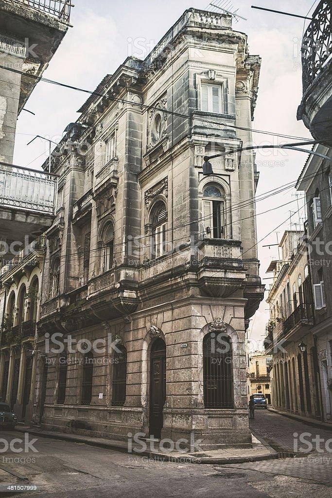 Havana Street stock photo