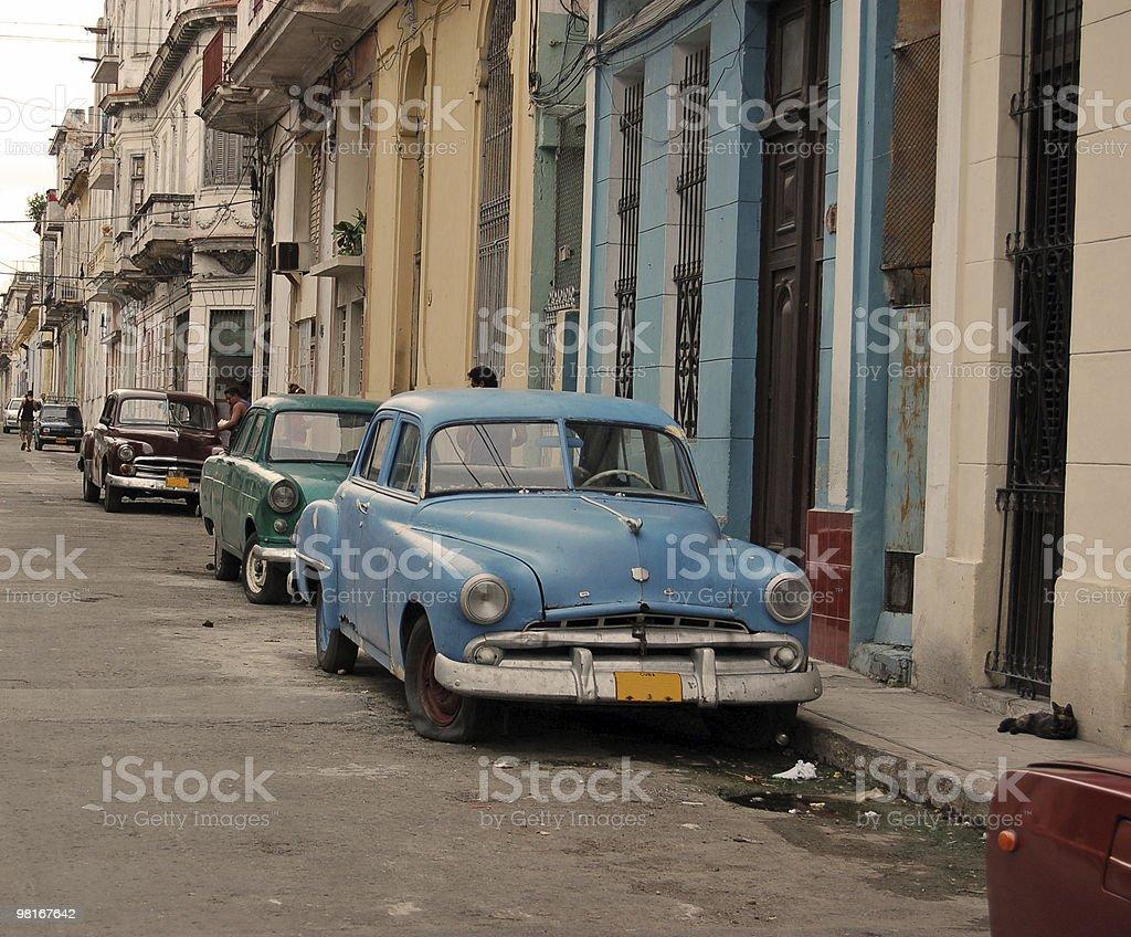 Havana Street royalty-free stock photo