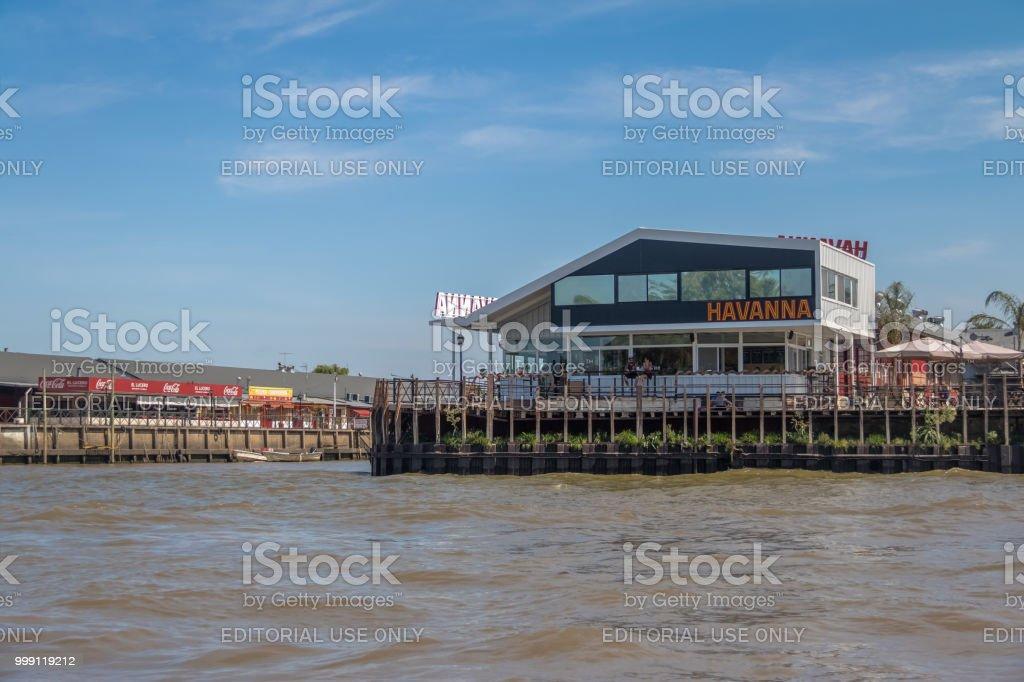 Havanna café tienda - Tigre, provincia de Buenos Aires, Argentina - foto de stock