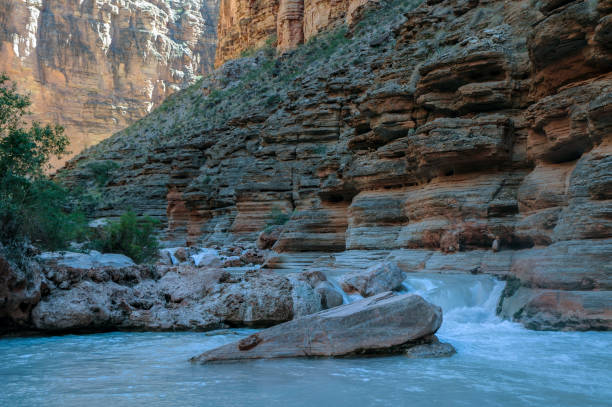 Havasu Creek, Grand Canyon National Park stock photo