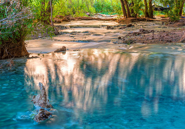 Havasu Creek Reflected Light stock photo