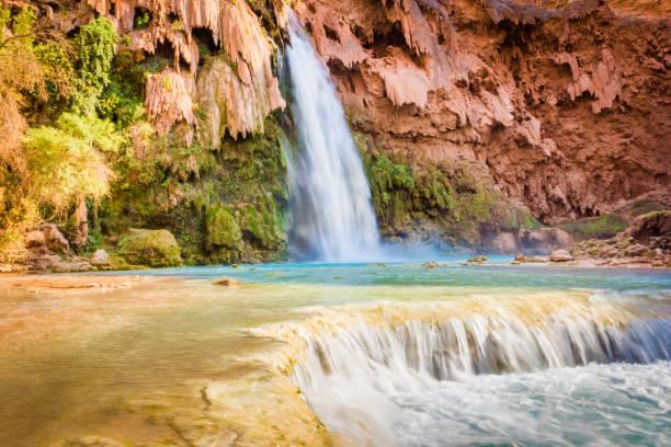 Havasu Falls, Arizona. Grand Canyon stock photo